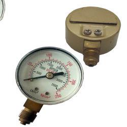 Oxigênio ou soldadura de acetileno manómetros de pressão