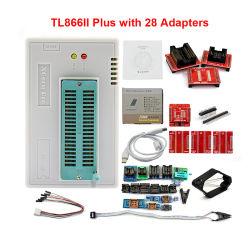 ユニバーサル小型プロプログラマー28アダプターテストクリップTl866 Pic BIOS高速自動プログラマーと100%元の新しいV9.0 Tl866II