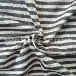 Fio de linho Vestuário tingido Jersey (QF13-0283)