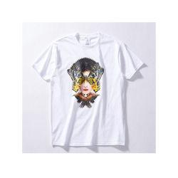 Preiswertes förderndes T-Shirt druckte 15% Baumwoll85% Poly-Gemischtes T-Shirt