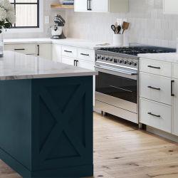 Современная мебель белого цвета панели управления кухонным шкафом модульная кухня для проекта оптовой отель