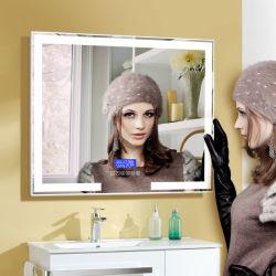 Specchio domestico di bellezza della parete illuminato LED di Decororation con l'altoparlante di Bluetooth