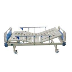 New-Style Manual médico de cabecera de tres funciones cama utilizado en salas de Hospital