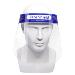 Gesichts-Schild-Schutz-Schablone Anti-Fog Anti-Staub zurückführbarer Plastik