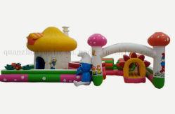 Jouet de plein air personnalisé Bouncy Jumping Diapositive château gonflable