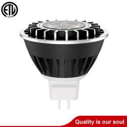 مصباح LED MR16 قابل للإضاءة بقدرة 2 واط/3 واط/4 واط، وقابل للإضاءة، ذو قدرة خارجية مقدرة