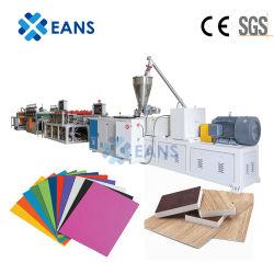 رغوة بلاستيكية عالية الجودة مقاس 3 - 35 مم مصنوعة من مادة WPC PVC لوحة الرسم صناعة خط آلة لصناعة الأثاث خزانة الديكور مبنى للإعلان