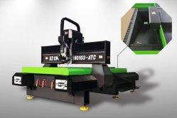 عمود دوران HSD عالي الجودة لأكريليك لجهاز التوجيه 1300X2500 Ez CNC هيكل من الألومنيوم البلاستيكي