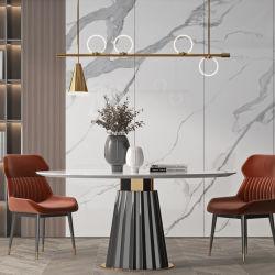 소결 스톤 칼라카타 블랑코 슬랩 광택 표면 벽 패널 욕실 부엌 조리대 위에 화강암 쿼츠 배니티 탑 테이블 탑 화이트 대리석