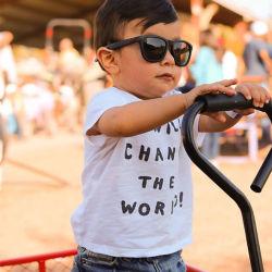 Usom lentille polarisée de marque personnalisée de gros Les enfants des lunettes de soleil Kid nouvelles lunettes de soleil gafas de sol pour les garçons et filles