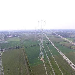Longue durée de vie Multi-Terminal DC de haute qualité de transmission de puissance haute tension à l'angle de la tour d'acier pour la conduite électrique