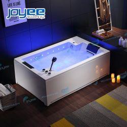 Joyee 2021 Hot Sale حوض استحمام داخلي عصري للتدليك شخصان بشلالات رققتين