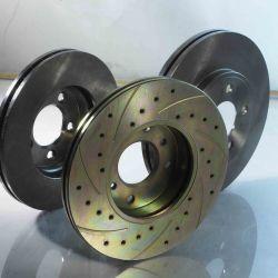 Fornecer boa qualidade dos discos de freio Stardard Automóvel, Discos de Freio Alto Carbono, perfurado e discos de freio ranhurado, Black Hat e discos de freio revestido