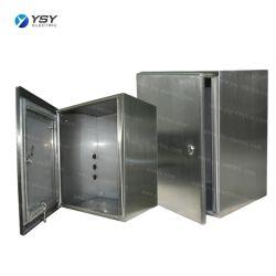 لوحة إمداد الطاقة الكهربائية المعدنية من الفولاذ المقاوم للصدأ التي يمكن تركيب الجدار عليها صندوق التوزيع وصندوق