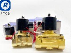 진폐성 2W 시리즈 솔레노이드 밸브 2W160 진폐성 구성품 진폐성 부속품 공압 공구 자동 부품 시리즈 일반적으로 밀폐된 방수 기능을 직접 작동