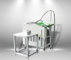 Ezletter 1000W Kanal-Zeichen-Faser-Laser-Handschweißer des Edelstahl-3D