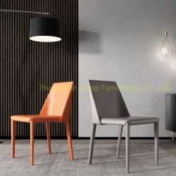 (SP-LC828) Cadeira de design clássico moderno Sela Cadeira de jantar de couro durável