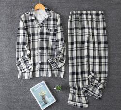 Fils teints pyjamas de flanelle de coton Pyjama d'hiver