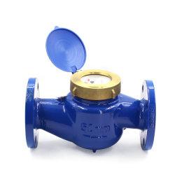 Emico Flansch-Wasser-Messinstrument DN50DN100 großer Durchmesser-mechanischer Flansch-flüssiges Dichtungs-Digital-Schrauben-Läufer-Wasser-Messinstrument