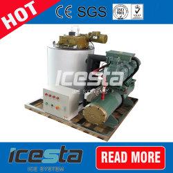 macchina di ghiaccio del fiocco dell'acqua dolce 2000kg/Day, ghiaccio di vetro