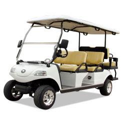 6 مقاعد عالية السلطة Flop مقاعد سيارة جولف كهربائية مع بطارية ليثيوم
