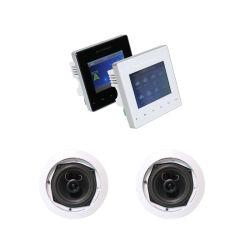 Sh1013スマートなホーム可聴周波パッケージ! 壁のアンプの2つのチャネルBluetooth + 5インチの天井のスピーカー