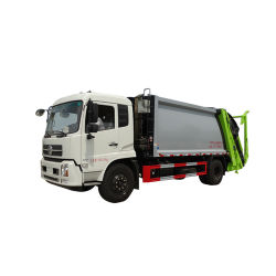12cbm Dongfeng Euro 4 Barrel Tuning Waste Garbage Collection Compactor Truck