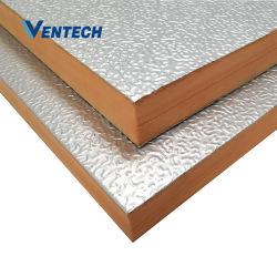 Conducto de aire HVAC Pre-Insulated Panel fenólico del conducto de aire