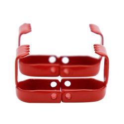 Fabricante Hot-Selling Weiou metal rojo Correa de hombro puede ser personalizado Matching cordón elástico clip de metal