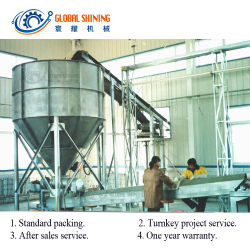 Global Shining industrielle de l'iode iodé iodation du sel de mer du Lac de ligne de production