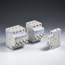 Mini-disjoncteur DC (MCB) non polarisée avec disjoncteur DC TUV certificats à partir de 1A à 63A