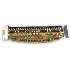 Fecho magnético Hipanema moda Bracelete Artesanais (HBL-10845)