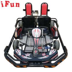 I giocatori commerciali di uso 2 il motore di 270cc che va pedale della benzina della strumentazione di divertimento di intrattenimento di Kart vanno Kart per l'adulto ed i capretti