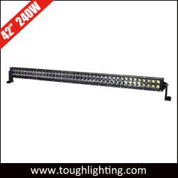 Marcação RoHS de alta potência com 240W de 40 polegadas Linha Dupla Offroad CREE barras de luz LED para veículo UTV ATV Offroad
