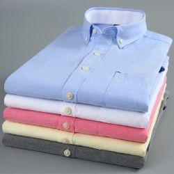 Wäsche-wohles schnelles trockenes grundlegendes kurzes Hülsen-Mann-Hemd
