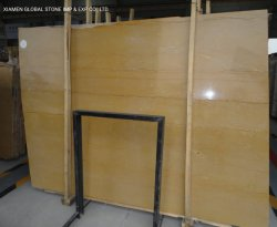 Marmo dorato di Emperador delle lastre dell'imperatore di pietra naturale Polished cinese delle mattonelle per i progetti interni della decorazione del controsoffitto della parete del pavimento