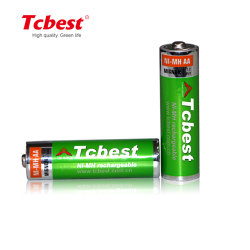 Produttore batteria a scarica automatica ricaricabile NiMH 1,2 V Batterie ricaricabili AAA Ni-MH AA D C 9 V da 2700 mAh per Mouse wireless