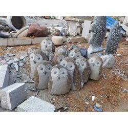 정원 & 야외 장식의 석조 동물 석조 조상 와일드 오울