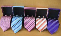 Cravatta di seta tessuta modo degli ultimi uomini