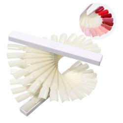 Спиральная искусственных ногтей гелем польский цветной дисплей наконечника сопла, практика поддельные акриловые ногти продуктов