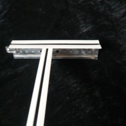 T24mm barra em T no teto/calha t principal/ da estrutura do teto