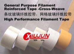 Filamento de propósito geral de tafetá Tape-Cross reforçado
