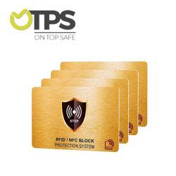 Blocage de carte RFID RFID personnalisé Passeport du protecteur de cartes de crédit