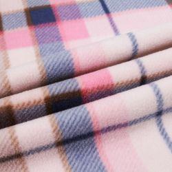 La micro pelle scamosciata 100% del poliestere ha legato con il tessuto della pelliccia dell'agnello di Sherpa per la fabbricazione del cappotto