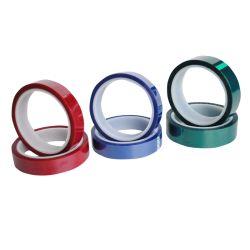 耐熱性緑のゴム系接着剤ペットポリエステルテープシリコーンの感圧性テープ