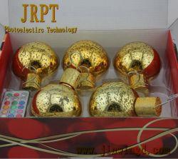 Decoração de bolas de Natal para economia de ideias para a Cerimônia de Casamento