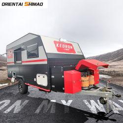 Customized 4 Pessoas Offroad Camper 4X4 Viagens VD do reboque de caravana