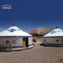 جودة عالية 30 متر مربع خيمة يورت منغولية الخيزران للمناسبات الخارجية