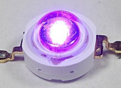 1W 3W 10W 365Nm 380 Nm 395 Nm 405 Nm 410 Nm 420 Nm 430 Nm pour LED UV lampe à ultraviolet séchage UV