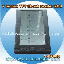 Rockchip Ebook, 7 Duim van TFT (s-E700B)